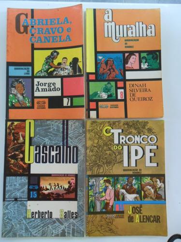 clássicos ilustrados! vários! ebal 1965! r$ 30,00 cada!