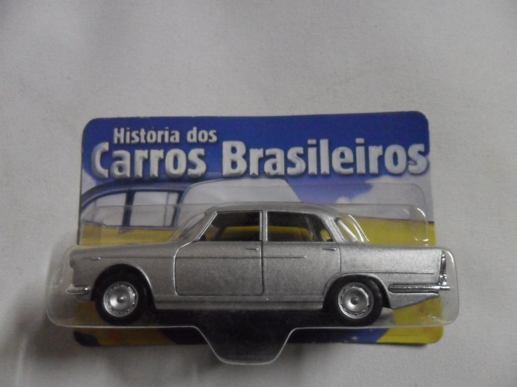 Classicos Nacionais Brasil Carros Alfa Fnm Jk 2000 Miniatura R 44