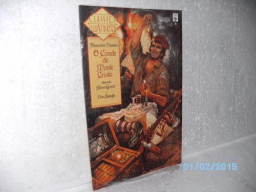 classics illustrated o conde monte cristo #3 *p/colecionador