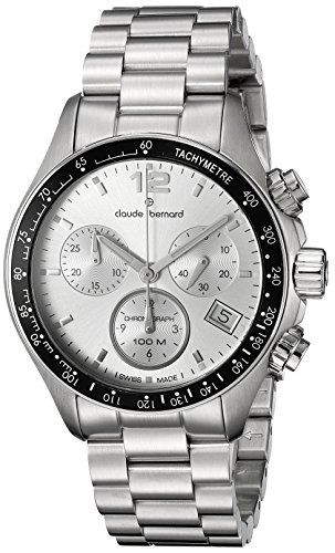claude bernard hombres  ain analog display reloj suizo w12