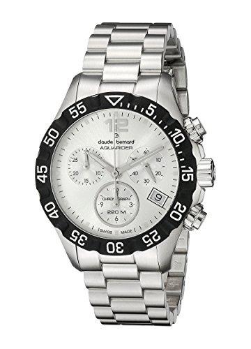 claude bernard hombres  ain analog display reloj suizo w13