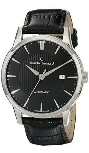 claude bernard men.s 80091 3 nin classic automatic pantalla