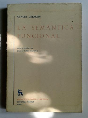claude germain la semántica funcional