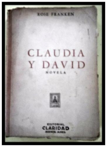 claudia y david  rose franken