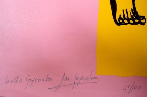 claudio   goycoolea - serigrafia