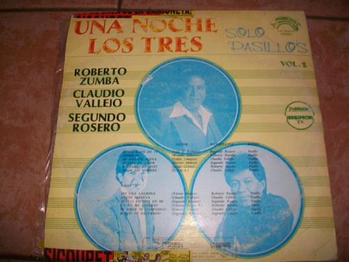 claudio vallejo, antigua música romántica en lp, buen estado