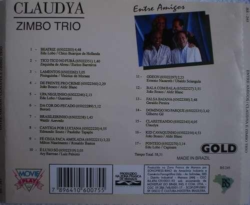 cláudya - zimbo trio - entre amigos