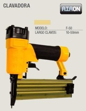 clavadora neumatica profesional clavos de 10mm-50mm f-50