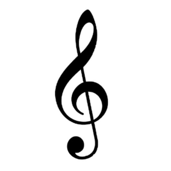 clave de sol notas musicais preta r 15000 em mercado livre