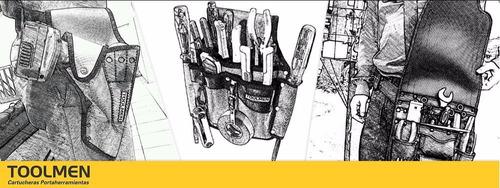 clavera para constructor carpintero durlero toolmen t67 tela cuerina espesor 2,5mm  respaldo sontara