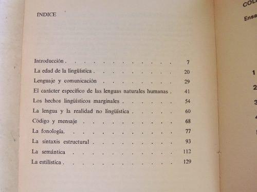 claves para una linguistica georges mounin anagrama