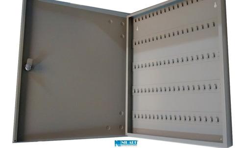 claviculário organizador 100 chaves porta chaves em aço