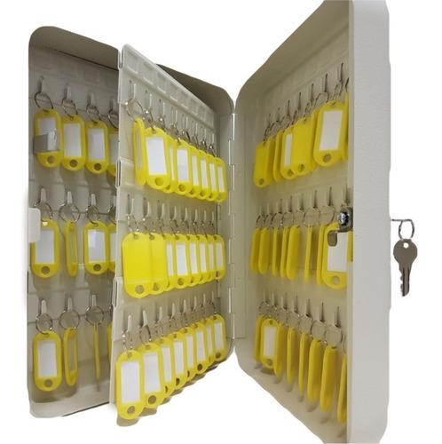 claviculário porta chaves 96 chaves com chaveiros de brinde