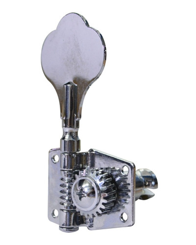 clavijero individual fender precision 4 en linea cromado