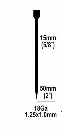 clavos 25mm 1  marca ingco