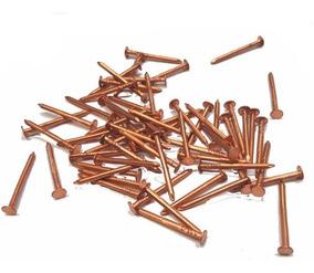 50 clavos de cobre de 40 mm para techos pizarra y tejas