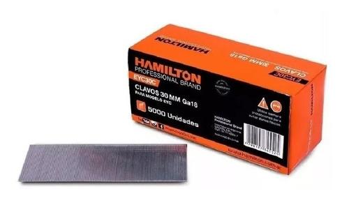 clavos hamilton clavadora neumatica serie f-50 30 mm x 5000