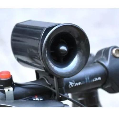 claxon electronico para bicicleta bocina de alto poder d1033