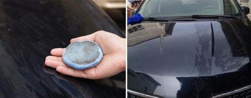 clay bar barra argila mágica automotiva descontamina pintura