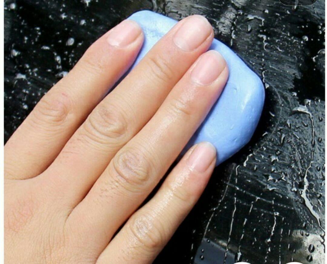 647b6ed1d0f0a Clay Bar - Pasta Abrasiva Azul P  Descontaminação De Pintura - R  29 ...