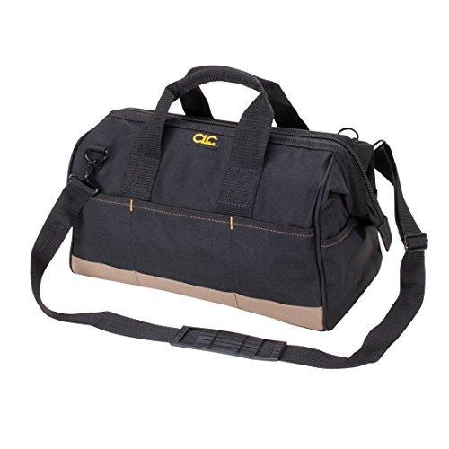 clc custom leathercraft 1165 large bigmouth bag, 22 bolsillo