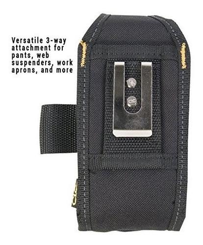 clc custom leathercraft - teléfono celular / portaherramient
