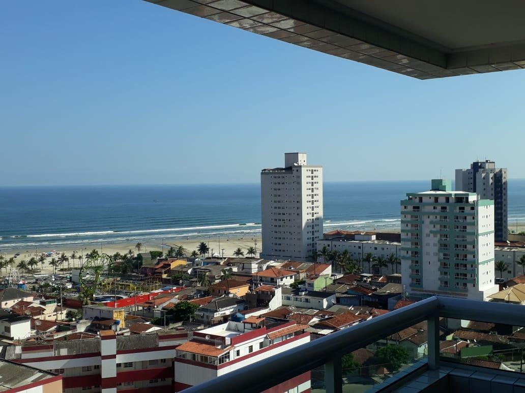 cle21 - apto novo 1 dormitório, 300 metros da praia,