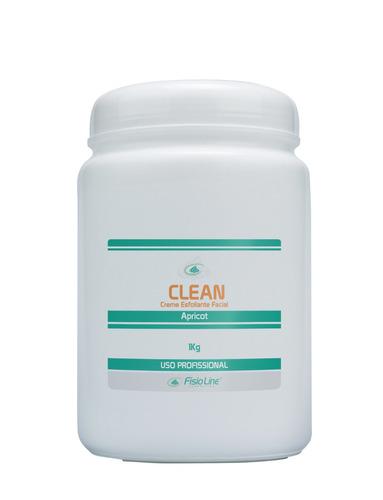 clean creme esfoliante facial 1kg cosméticos fisioline#27