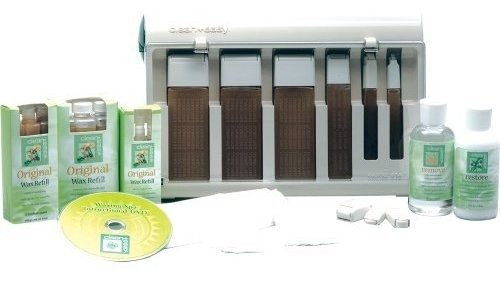 clean easy professional waxing spa basic kit 22 count