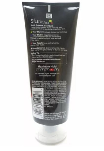 clean gel loreal studio line strong hold medium shine
