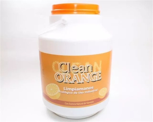 clean orange limpiamanos industrial 5kg