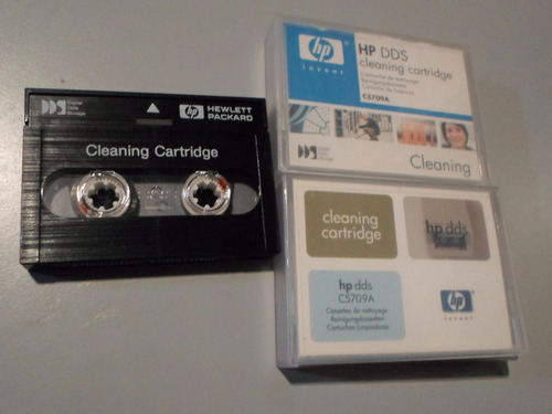 cleaning cartridge hp dds c5709a cartucho de limpieza usado