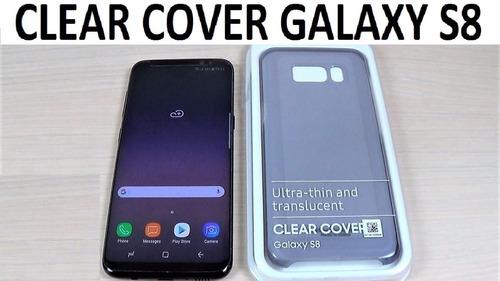 clear cover samsung s8 s8 plus originales nuevos - colores