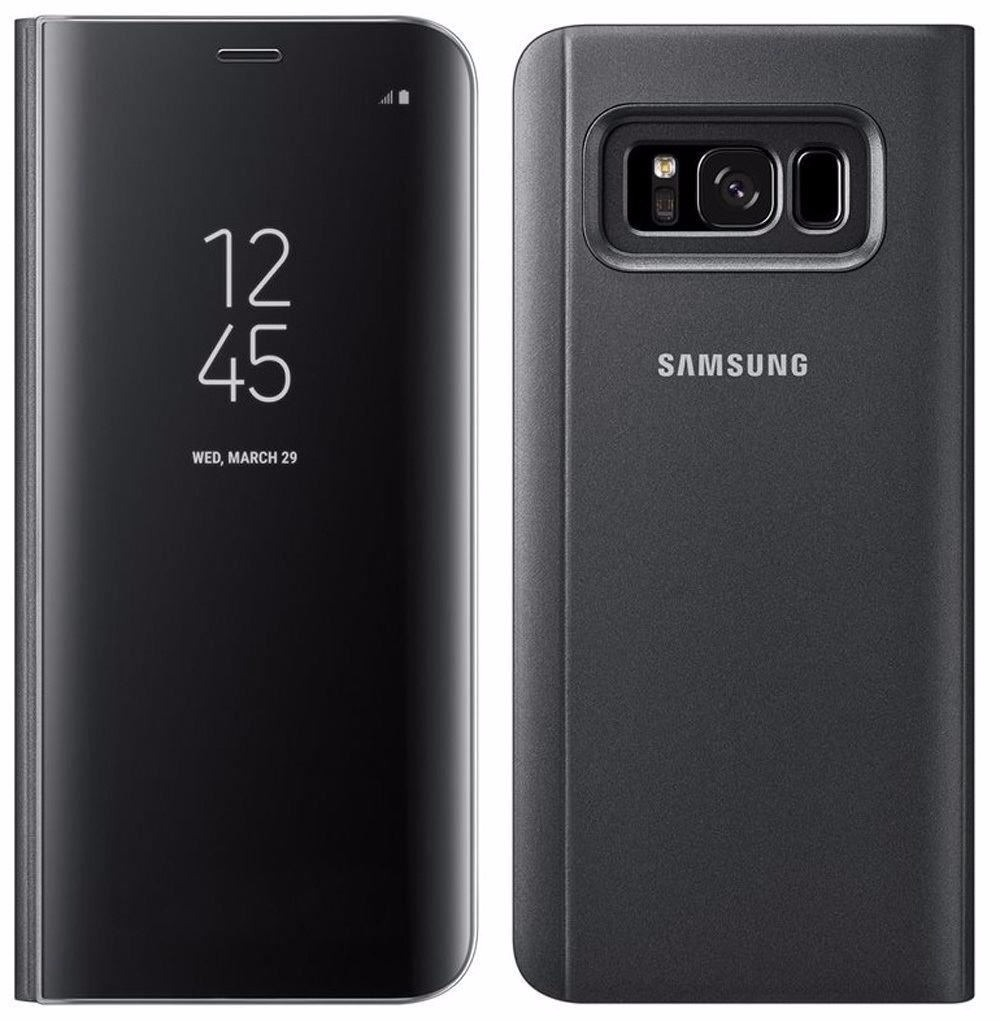 samsung clear view standing cover - funda para galaxy s8