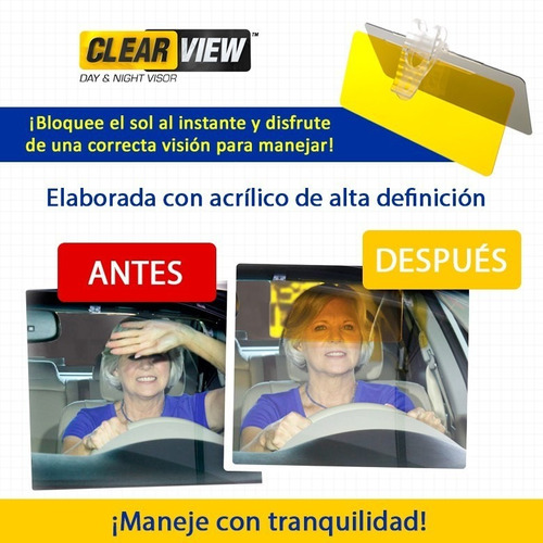 clear view vicera doble alta proteccion americana original