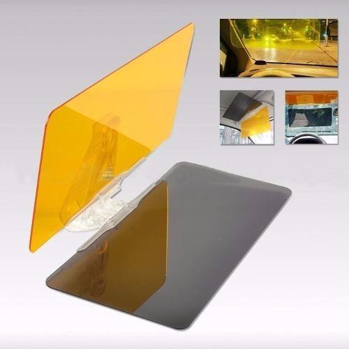 clear view visor hd 2x1 - para todo tipo de carro