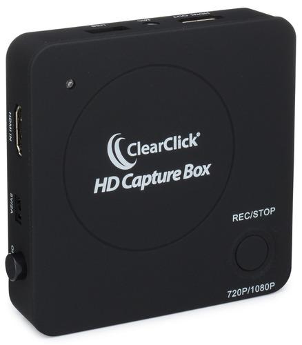 clearclick hd captura caja - registro captura hdmi video de