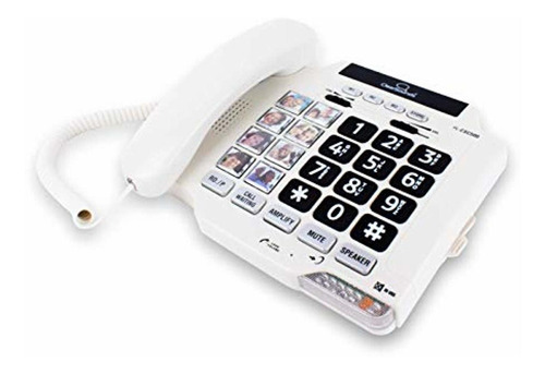clearsounds cscsc500 teléfono fijo amplificado