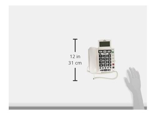 clearsounds cscsc600er en un teléfono fijo de 1 teléfono