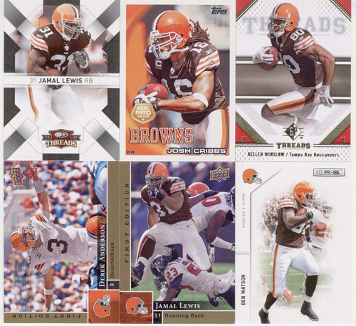 cleveland browns lote # 1