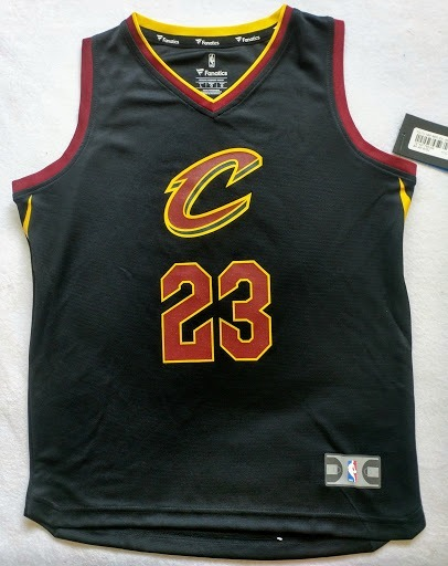 reputable site f6b1c 3847f Cleveland Cavaliers Lebron James Jersey Fanatics