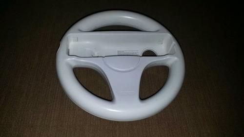 ¡click! volante original wii para juegos de conducción