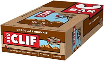 clif energy bar - brownie de chocolate - (2,4 oz, 12 count