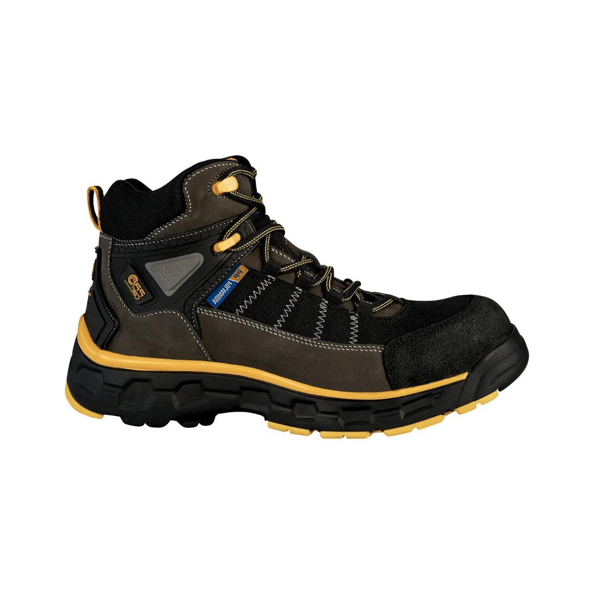 Zapatos Seguridad Cliff Piel Industriales Trabajo Casquillo AqR0dpHw