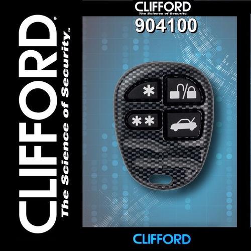clifford control remoto 904100, 4 botones para auto alarmas