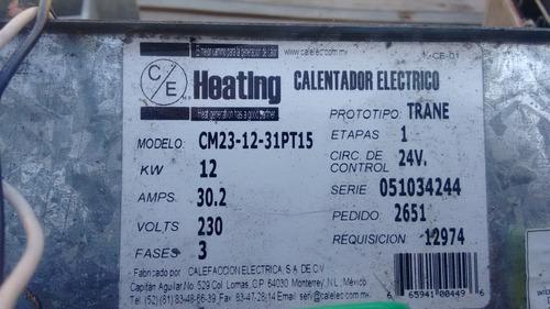 clima central.resistencia para calefaccion12kw,220 v,trif