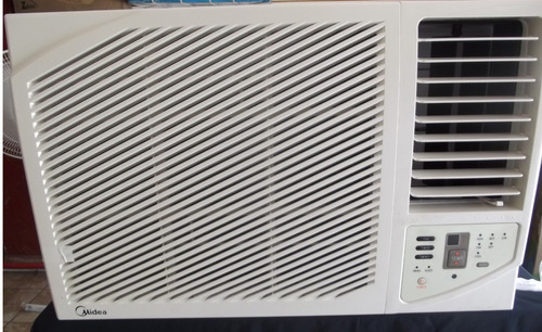 clima de ventana midea 1 tonelada (12000 btus)  110v