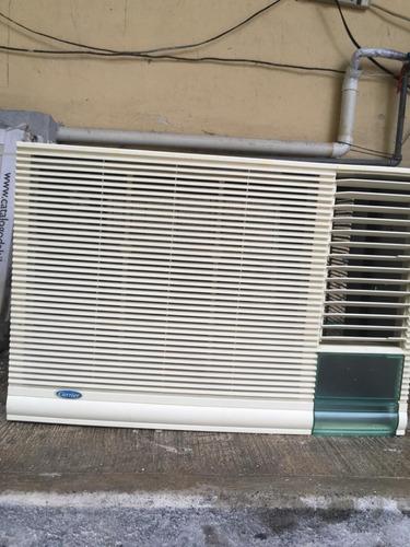 clima ventana carrier 23500btu 220v en perfectas condiciones