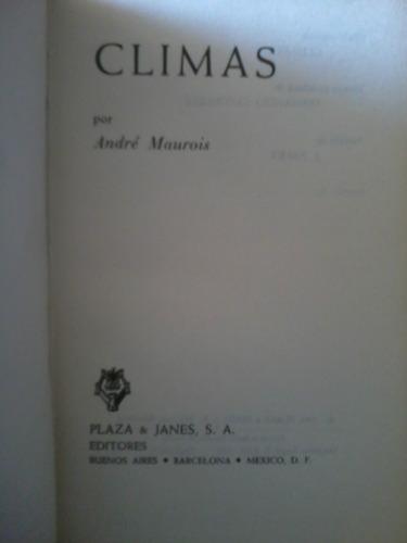 climas  - andre maurois - 1961