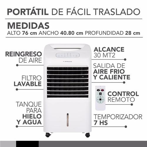 climatizador de aire portatil frio/calor philco ac-ph40